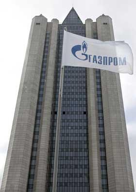 Russiske Gazproms hovedkvarter i Moskva. (Foto: Jurij Kadobnov/AFP/Scanpix)