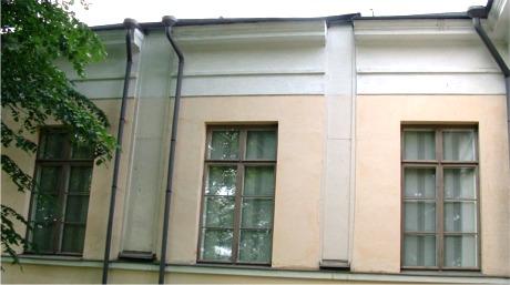 Meridianhallen med de takhøye lukene. (lukket på bildet)
