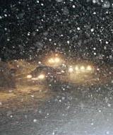Kolonnekjøring har vært vanlig på Haukelifjell i vinter.