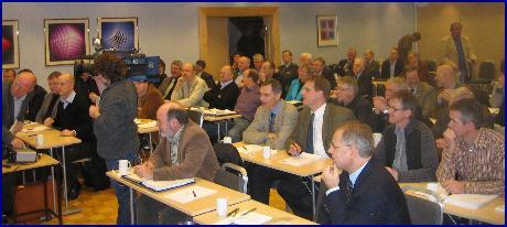 Samstemt på kraftmøtet i Molde om at gasskraftverk må bygges snarest. Foto: Gunnar Sandvik