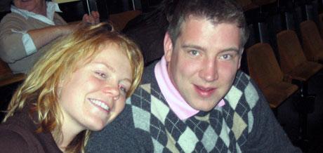 Lisa Ellingsen og André Johansen fra Moss skal gifte seg St.hansaften 2007. Foto: Andreas Hagen, NRK
