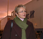 Samferdselsministeren var i Vestfold tirsdag. Foto: Scanpix.