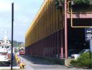 Parkeringshuset på Jorenholmen i Stavanger Foto: NRK