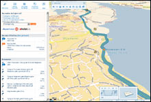 Mest utviklet: Slik ser det ut på Map 24s veivisningtjeneste