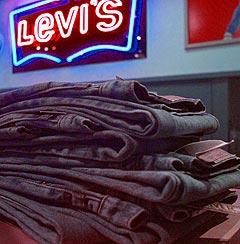 Levis har utviklet en egen bukse for iPod-brukere. Illustrasjonsfoto: Ben Margot, AP Photo / Scanpix.