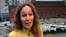 Camilla Stolntenberg er prosjektleder for Autismestudien. Foto: NRK