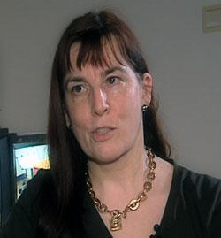 Synnve Schjølberg, spesialist i klinisk psykologi ved Folkehelseinstituttet. Foto: NRK.