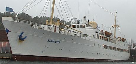 Skoleskipet Sjøkurs i Kristiansand. Foto: NRK