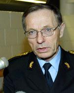 Politimester Anstein Gjengedal. (Scanpix)