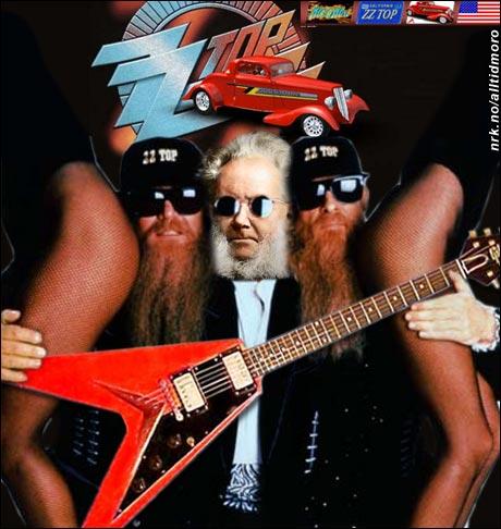 "ZZ Top featuring Henry ""Gibson"" Ibsen. (Alltid Moro)"