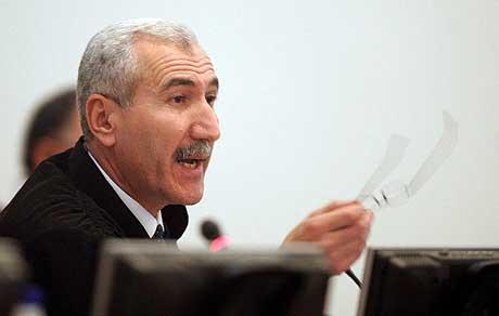 Dommer Rizgar Amin søkte avskjed fordi han var er lei av å bli presset, blant annet fra regjeringshold.