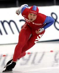 Eskil Ervik på 500 m i EM på Hamar (Foto: Scanpix/Bjørn Sigurdsøn)