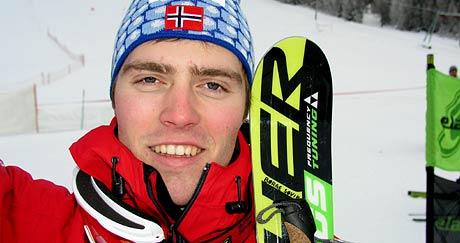Børge Søvik imponerte i verdscupopninga i telemarkkøyring i helga.
