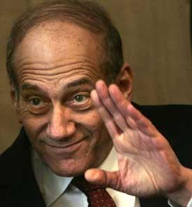 Ehud Olmert - fungerende statsminister og partileder. Foto: Scanpix/AP.