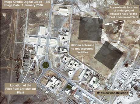 Iran er på full konfrontasjonsline med det internasjonale samfunnet. (Scanpix-foto)