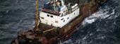 Den ulovlige fisken skal komme fra russiske fiskefartøyer. Foto: NRK.