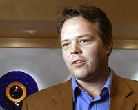 – Pinlig sak, sier kommunikasjonssjef i Hydro Texaco, Johan Kraft-Johanssen. Foto: NRK/FBI