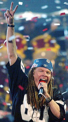 Axl Rose og Guns N' Roses kommer likvel til Norge. Foto: Ap Photo / Scanpix.