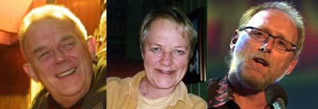 Arthur Arntzen, Grete Hågenrud og Halvdan Sivertsen har fått hver sin Prøysen-pris.