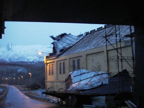 Utgangen av Fykantunnelen på riksvei 17 i Glomen, Glomfjord. Foto: Jan Inge Karlsen