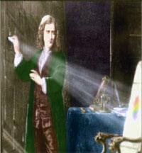 Sir Isaac Newton var ein smarting. Ill.: NRK