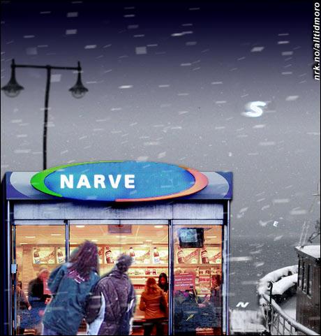 "Stormen ""Narve"" herjet Nord-Norge i januar 2006. (Alltid Moro)"