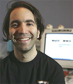 Bram Cohen står bak BitTorrent-systemet som har tatt over for fildelingstjenestene og som nå står for opptil 80 prosent av all internettaktivitet målt i antall bytes. Foto: Scanpix.