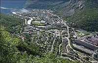 Øvre Årdal. Foto: NRK