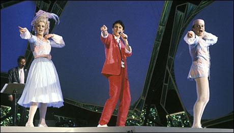 <b>Romeodansen:</b> her fra den norske finalen.