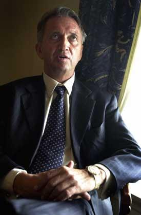 FN-utsending Terje Rød-Larsen: - Ikke døm Hamas ennå. Foto: Scanpix.