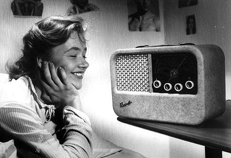 Kurér-radioen ble Radionettes største suksess. Foto: SCANPIX