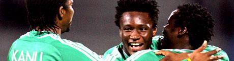 John Obi Mikel ble kåret til årets unge spiller fra Afrika.(Foto: Reuters/ Scanpix)