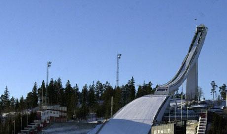 Denne bakken bør rives, mener byrådet i Oslo. Foto: Knut Fjeldstad, Scanpix