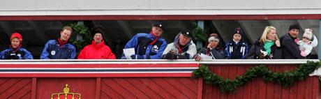 De kongelige skal også få finere tribune. Foto: Ørn E. Borgen, Scanpix