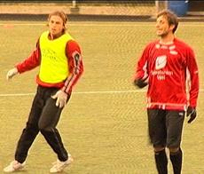Dylan Macallister og Sebastian Eguren. Foto: NRK.