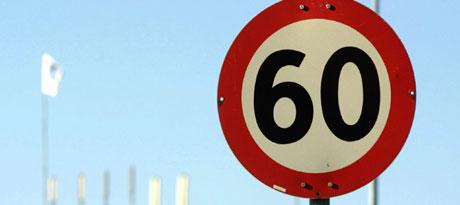 Ordningen med redusert fartsgrense på riksvei 4 skal også gjelde på Ring 3 til vinteren. Ill.foto: Alf Ove Hansen, Scanpix