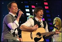 Hans-Petter Moen og Kim Arne Hagen. (Foto: NRK/Jan Henrik Mo)
