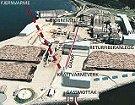 Skisse av gasskraftverket på Fiborgtangen. Vil Elkems engasjement føre til bygging?