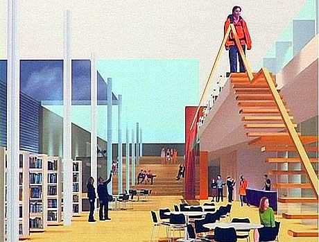 Teikning: Arkitektgruppen lille Frøen AS