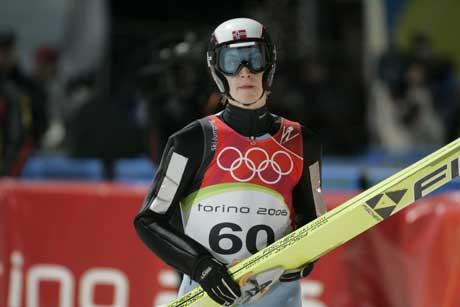 Lars Bystøls teip på overarmene var ikke reglementert. (Foto: Cornelius Poppe / SCANPIX)
