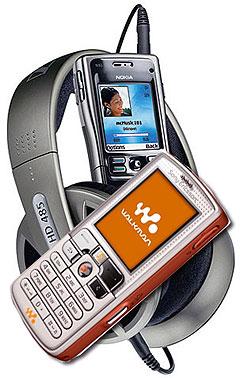 Snart får du Napster som innholdsleverandør av musikk til mobilen din. Foto: Reuters / Sony Ericsson.