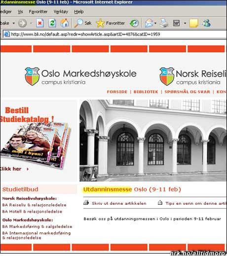 Stort behov for utdannin(g) i Oslo. (Innsendt av Trond Ødegården)