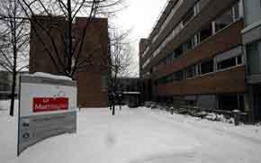 Hovedkontoret til Mattilsynet i Oslo som er den operative enheten når det gjelder tiltak mot fugleinfluensa. Foto: Jarl Fr. Erichsen / SCANPIX