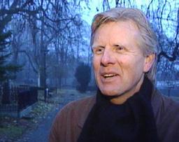 Kirkeverge Gunnar Wik. Foto: NRK.