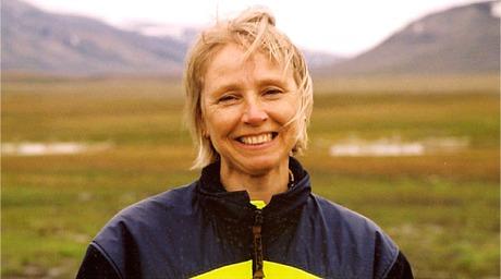 ...her er en FRAGILE-prosjektets nest viktigste personer: Professor Ingebjørg Jonsdottir fra UNIS