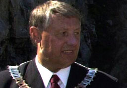 Odda-ordfører Toralv Mikkelsen. Foto: Scanpix.