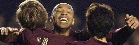 Thierry Henry, Arsenal. (Foto: AP / SCANPIX)