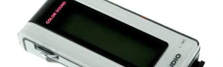 Produktbilde: iAudio 5 fra amerikanske COWON America er den beste av de enkle MP3-spillerne. Foto: COWON America