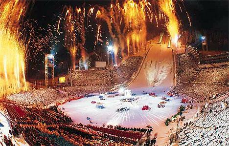Lillehammer-OL i 1994 ble en gigantisk suksess på mange måter. Men ikke alle som bidro fikk like mye igjen for det. Foto: LOOC.