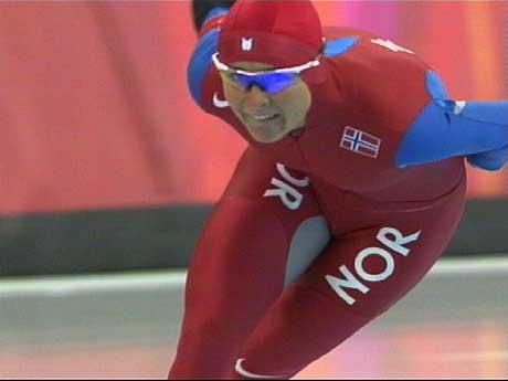 Annette Bjelkevik satset alt og ble beste norske løper på 1500 meter (foto: NRK)